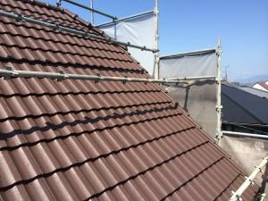 熊本県 T様邸 屋根塗装完了