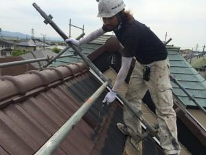 熊本県 屋根 塗装工事 T様邸