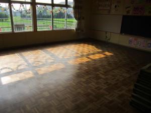 太宰府市 ちいさこべ幼稚園 床張替え工事 施工前