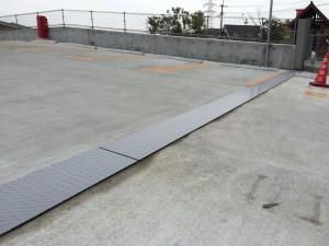 筑紫野市 U幼稚園 縞鋼板 塗装工事 完了