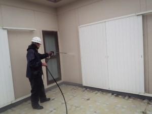 太宰府市 塗装工事 高圧洗浄