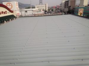 大野城市 塗装工事 屋根完了