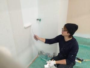福岡市 城南区 レッドキャベツ 塗装工事