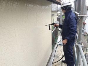大牟田市 S様邸 塗装工事 高圧洗浄