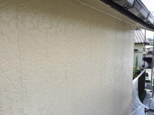 大牟田市 塗装工事 S様邸 外壁中塗り完了