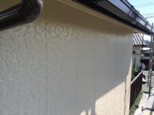 大牟田市 塗装工事 S様邸 外壁上塗り完了