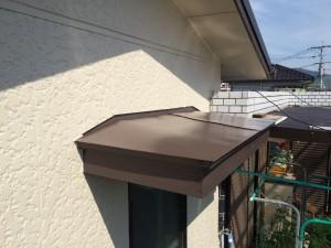 大牟田市 塗装工事 S様邸 庇 完了
