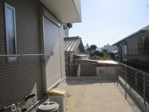 筑紫野市 H様邸 テラス取付け工事 施工前