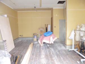 福岡市 南区 店舗 改装工事 施工状況