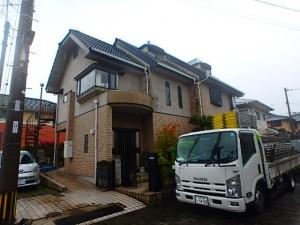 熊本県 T様邸 塗装工事 足場仮設