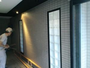 福岡市 博多区 RXビル タイル貼り換え工事 施工前