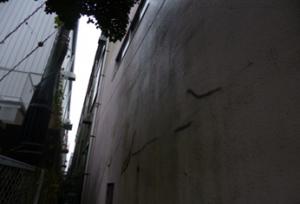 福岡市 東区 カガミ産業 外壁塗装工事 施工前