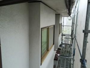 太宰府市 塗装工事 N様邸 外壁 高圧洗浄 完了