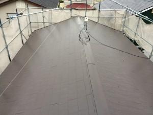 宇美町 屋根 塗装工事 K様邸 上塗り 完成