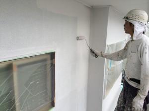 太宰府市 塗装工事 N様邸 外壁 下塗り