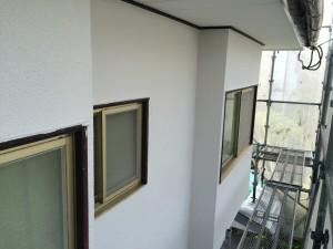 太宰府市 塗装工事 N様邸 外壁 下塗り 完了