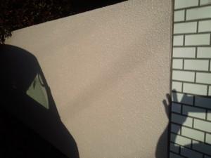 太宰府市 塗装工事 S様邸 外塀 中塗り完了