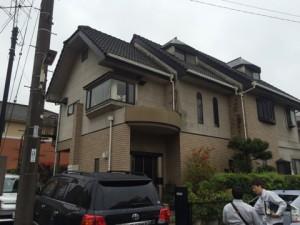 熊本県 熊本市 T様邸 外壁 屋根 塗装工事 施工前