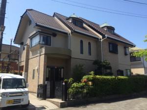 熊本県 熊本市 T様邸 外壁 屋根 塗装工事 完了