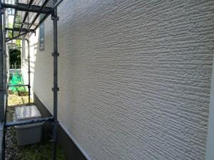春日市 塗装工事 B様邸 外壁 高圧洗浄 完了