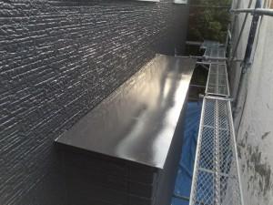 春日市 塗装工事 B様邸 板金塗装 完成
