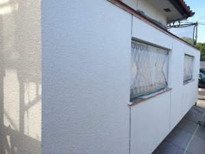 太宰府市 O様邸 塗装工事 外壁下塗り