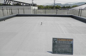 大野城市 Mハイツ 屋上防水工事 完了