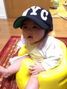 お父さんの帽子♡ すーちゃん♡