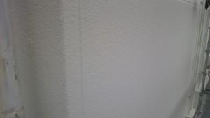 筑紫野市 JA阿志岐支店 塗装工事 外壁 上塗り2回目 完了