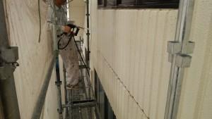 久留米市 外壁 屋根 塗装工事 アイゼン通運 高圧洗浄
