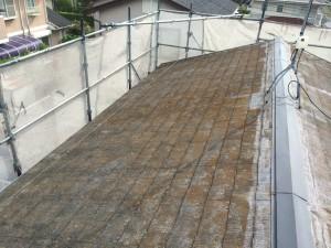 福岡県 粕屋郡 K様邸 屋根 塗装工事 施工前