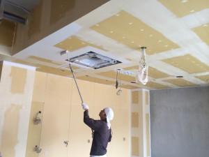 福岡市 南区 塗装工事 井尻美容室 壁塗装工事