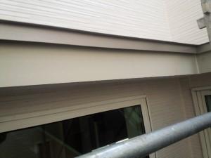 福岡県 粕屋郡 新築 塗装工事 幕板完了