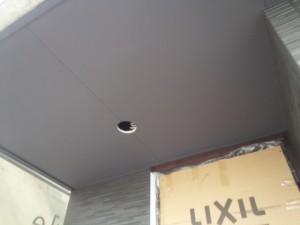 福岡県 粕屋郡 新築 塗装工事 軒天 完了