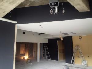 福岡市 南区 塗装工事 美容室 壁塗装 完了