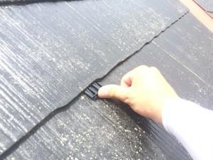 筑紫野市 F様邸 屋根 塗装工事 タスペーサー取付け