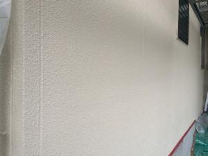 筑紫野市 F様邸 塗装工事 外壁上塗り 完了