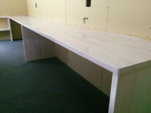 福岡市 東区 ユースタイル様 事務所 塗装工事 木部 完了