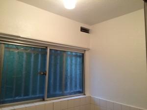 大野城市 塗装工事 白木原アパート 浴室 壁天井 完了