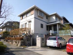 筑紫野市 F様邸 外壁 屋根 塗装工事 施工前