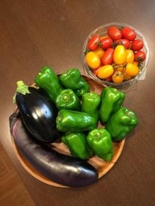 親戚の美味しい無農薬野菜です!
