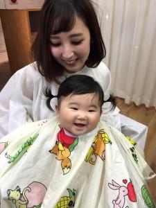 すーちゃん 髪切り 施工前☆ ごきげん!