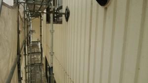 久留米市 塗装工事 アイゼン通運 外壁 下塗り 施工前