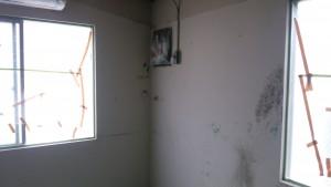 福岡県 粕屋町 塗装工事 ビーオーケミカル様 内部壁 施工前