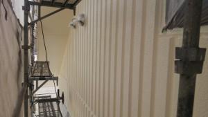 久留米市 塗装工事 アイゼン通運 外壁上塗り1回目 完了