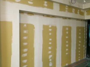 福岡市 南区 塗装工事 井尻美容室 追加塗装工事 内壁 施工前
