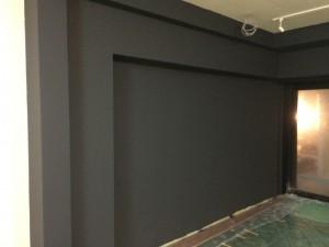 福岡市 南区 塗装工事 井尻美容室 追加塗装工事 内壁完了