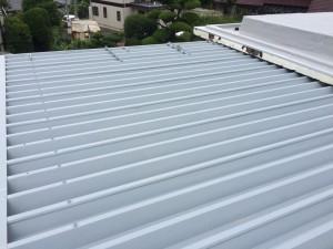 福岡市 南区 屋根 塗装工事 S様邸 錆止め塗布 完了