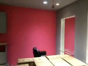 福岡市南区 井尻美容室 店舗 塗装工事 完了