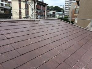 筑紫野市 F様邸 塗装工事 屋根下塗り 完了